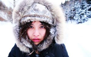 【黑龙江图片】坐着火车去看雪 邂逅北风女神的奶油冰棍儿
