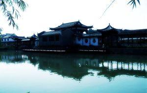 【三河古镇图片】国庆节安徽三河古镇万佛湖自驾游