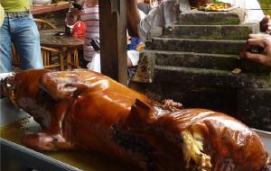 巴厘岛美食-Ibu Oka Babi Guling Ubud