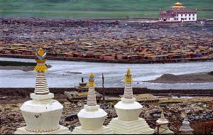【白玉图片】2007年夏 白玉县的亚青寺——川西北之旅(四)