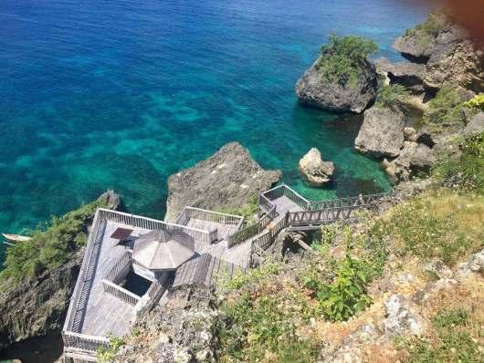 菲律宾锡基霍尔岛一日游 环岛旅游 鱼疗spa 树藤跳水