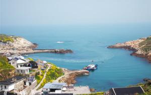 【渔山岛图片】那一片黄,那一片蓝,那一片海,只属于渔山岛
