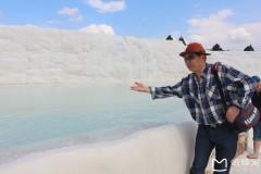土耳其埃及十八天探险之旅...游土耳其名胜温泉棉花堡景区随拍