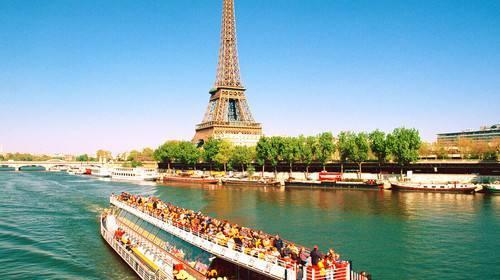 法国人均gdp_埃菲尔铁塔全景图片(2)