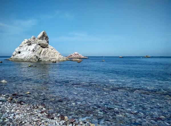 下午行程:大钦岛---蓬莱港3h,吃过饭后直接去码头,买的13:00的海马