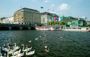 【汉堡图片】德国-汉堡-阿尔斯特湖、市政厅及乡村风貌