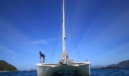 免费旅拍 普吉岛 皇帝岛 珊瑚岛豪华双体帆船狮子号浮潜/深潜一日游