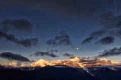心中的梅里雪山