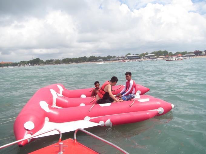 第三天租车去巴厘岛蓝湾(nusa dua tanjung benoa)潜水去