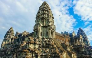 【金边图片】【阿毛的旅行地图】古寺石块缝隙间,高棉的微笑穿越(附各种干货攻略)