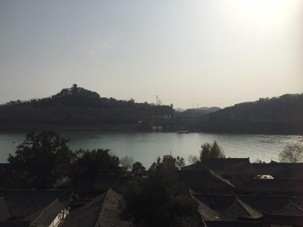 阆中古城夜景  白塔山登顶  第3天:收拾退房后,驱车到达广元市剑门关