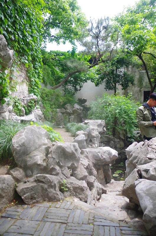 苏州园林鉴赏之艺圃加平江路的一小段