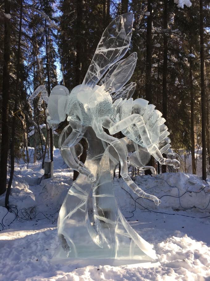 冰雕设计图黑白