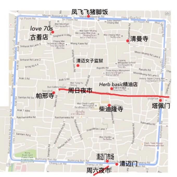 泰国的奇妙旅行_清迈 拜县 普吉岛 曼谷(内含手绘地图