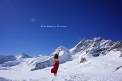 "Fall in love with 瑞士——把风景寄存在""明信片""里可好......"