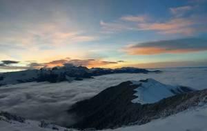 """【达瓦更扎图片】「达瓦更扎」云海之上的""""天空之镜"""""""