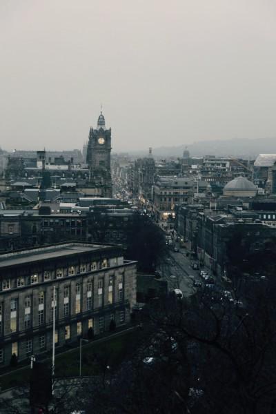古老迷人的友好爱丁堡和可爱的苏格兰高地游记