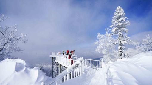 05敦化-冰河雪谷风景区-中国雪乡-农家火炕