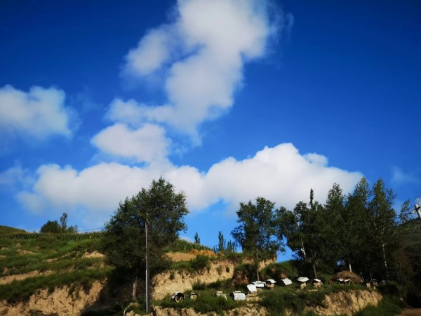 我的家乡美如画 七道阳光的摄影