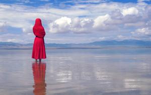 """【爱尔兰图片】""""青海 茶卡盐湖""""——蓝天碧玉,在最美的季节遇见你"""