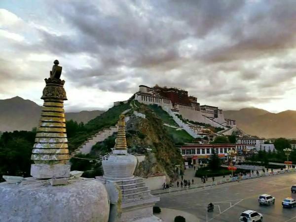 的川青藏之旅 布达拉宫