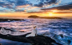 【渔山岛图片】一生一次,婚纱照拍摄的地方:去了又去的渔山岛。~