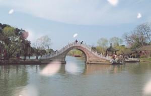 【扬州图片】桃红柳绿春水悠悠,一派生机勃勃景象