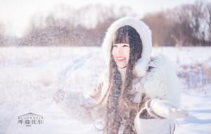 【额尔古纳图片】愿每一滴洒向寒冷的暖流,都绽放在落霞映红的天空丨呼伦贝尔梦幻冬日之旅