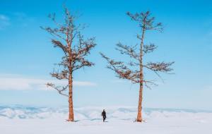 【贝加尔湖图片】西伯利亚穿白纱的公主-贝加尔湖