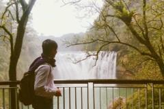 【新北。景点】九份轻旅行 X 平溪线必访推荐~十分大瀑布(Shifen Waterfall)。