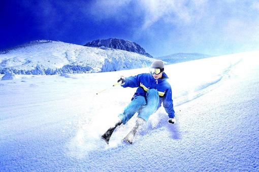 亚布力森林温泉酒店 新体委滑雪2天1晚住宿(双人自由