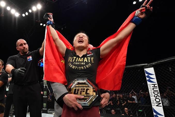 UFC中国力量- 张伟丽