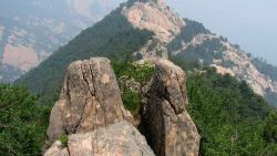 泰山景点-天烛峰