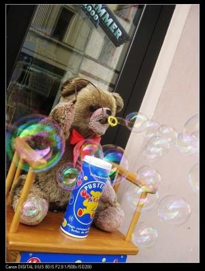 grlitz——出德国记  回复流浪的狮子在觅食的图片:好可爱的熊,吹泡泡