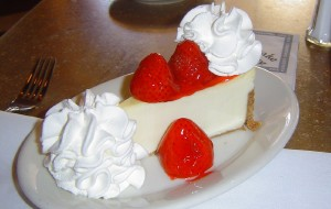 芝加哥美食-The Cheesecake Factory John Hancock Center