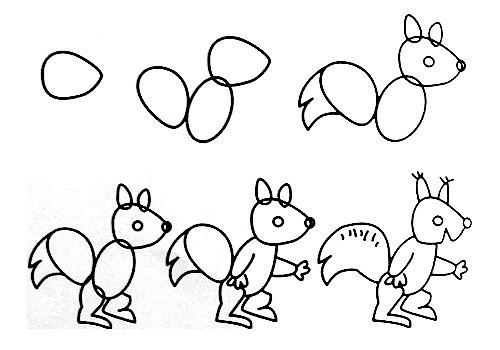 教你怎样画简笔画