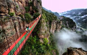 【雁荡山图片】雨后出游雁荡山-云雾缭绕之美景(附逃票路线)