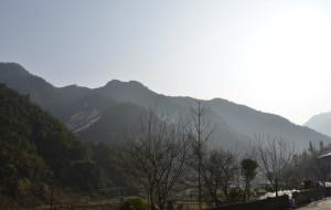【大明山图片】浙江大明山雪景,农家乐