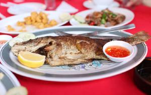 兰卡威美食-椰林中华料理