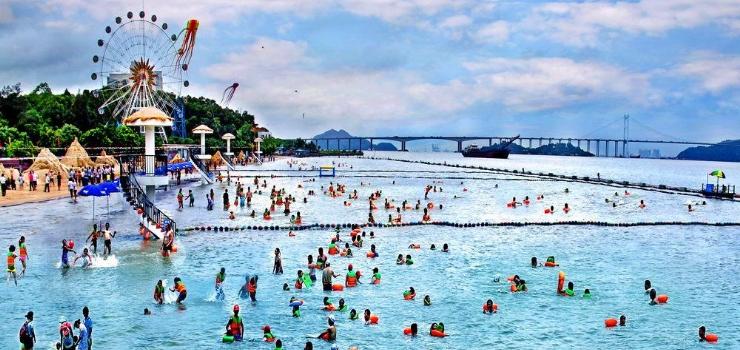 南沙滨海泳场