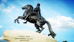 圣彼得堡景点-彼得大帝青铜骑士像(The Bronze Horseman)