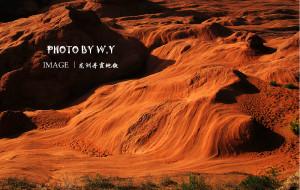 【靖边图片】懒小丫的意外行---龙洲丹霞地貌