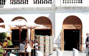 巴塞罗那美食-圣卡特琳娜市场