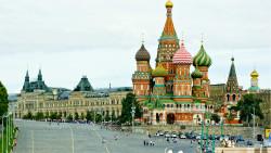 莫斯科景点-圣瓦西里升天教堂(Saint Basil's Cathedral)