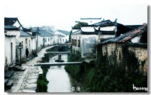 【绩溪图片】深山空谷,寂寞古镇
