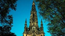 爱丁堡景点-司各特纪念塔(Scott Monument)