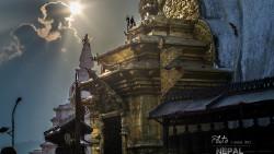 尼泊尔景点-猴庙(部分坍塌危险)(Swayambhunath Temple)