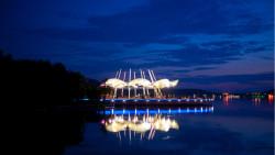 无锡景点-蠡湖之光