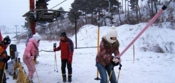 玉泉威虎山滑雪场