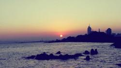 青岛景点-第六海水浴场